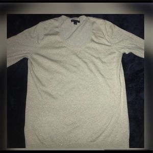 Long sleeve sparkly Tommy Hilfiger shirt